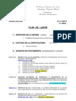 Plan de Labor 11-14-12 Ses Esp PER SALTUM