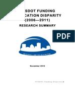 Building a Better Rochester - NYSDOT Report - 11.13.12