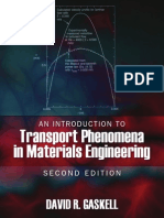 An Introduction to Transport Phenomena in Materials Engineering, Second Edition