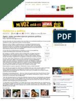 Again_ redes sociales ejercen presión política- Primerahora