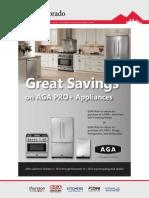 Great Savings on AGA Pro+ Appliances