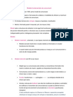 Modele Fundamentale Ale Comunicarii