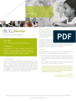 Public Consulting Group Case Study - School Improvement Planning