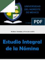 Estudio Integral de La Nomina