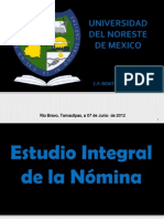 Estudio Integral de La Nomina