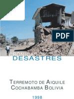 Cronicas de Desastres - Bolivia