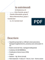 Mihai Panainte - Hepatita Autoimuna