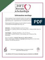 CHFT Diversity Scholarships