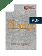 Third Quarter Report MAR 31 2012