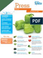 Sysco Fresh Press 11/9/2012