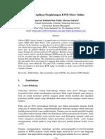 Sistem Aplikasi Penghitungan KWH Meter Online