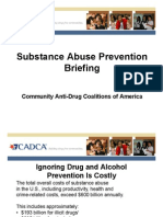 Making Case Drug Free Comm Program