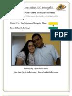 INFORME A octubre 2012 DE OBRA EN CONSOLIDACIÓN - SAN SEBASTIAN DE MARIQUITA - DISTRITO 15