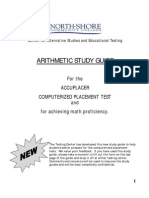 Accuplacer Arithmetic Study Guide for Achieving Math Proficiency