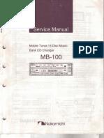 Nakamichi Mb 100