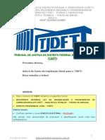 Regimento TJDFT - Aula 06