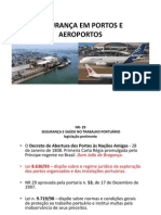 SEGURANÇA EM PORTOS E AEROPORTOS