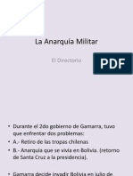 La Anarquia Militar (8th)