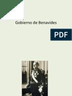 Gobierno de Benavides (1)