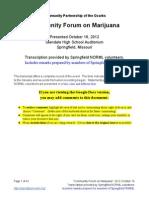 CPO CFM 2012-10-16 Transcript and Response