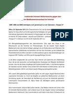 Pangea IV - Internationale Internet-Aktionswoche gegen den illegalen Medikamentenverkauf im Internet