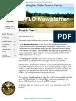 FLO Newsletter August 1 2012