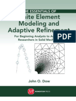 The Essentials of Finite Element Modeling and Adaptive Refinement