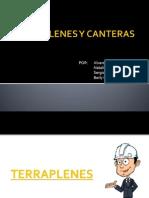 Terraplenes y Canteras