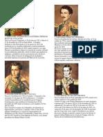 Presidentes de Bolivia 1825-2014
