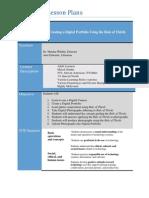 ECCE Digital Portfolio