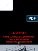 IMPACTO ECONÓMICO FLOTA ARRASTRE ECUADOR