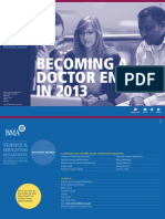 Becoming a Doctor Guide 2013