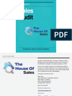 The House of Sales - Sales Audit