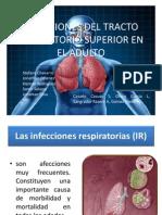Infecciones Del Tracto Respiratorio Superior en El Adulto