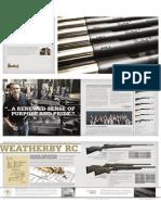 Weatherby Firearms 2013 Catalog