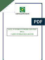 Loi n°47-95 - CCG