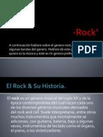 Genero Rock'