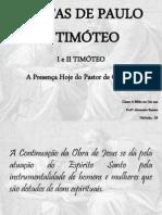 CARTAS DE PAULO A TIMÓTEO
