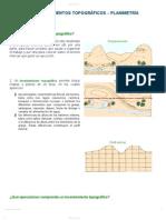 LEVANTAMIENTOS TOPOGRAFICOS - PLANIMETRIA