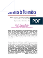 Elementos da Matemática 3