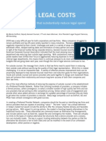 RR Donnelley Managing Legal Costs Whitepaper