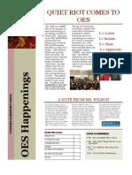 Octorara Elementary School Fall 2012 Newsletter