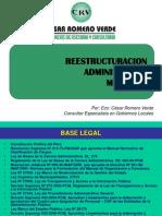 Restructuracion Administrativa Municipal