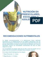 15 Alimentacion Preescolares, Escolares y Adolescentes