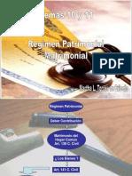 Tema 10 y 11 Regimen Patrimonial