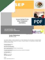 Guia didactica  ESPAÃ'OL