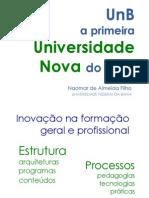 UnB Universidade Nova há 50 Anos