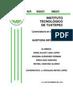 UNIDAD 5 AUDITORIA DE LA SEGURIDAD EN LA TELEINFORMÁTICA.