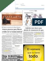 05-10-2006 Avanza Proceso Para Liberar Credito de La Ciudad Judicial