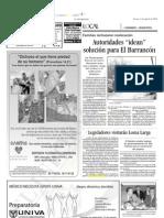 04-08-2006 Legisladores visitarán Loma Larga